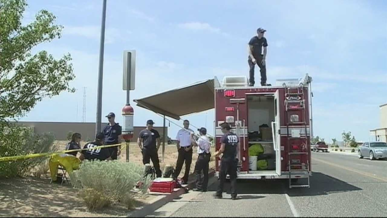 Suspicious package deemed safe