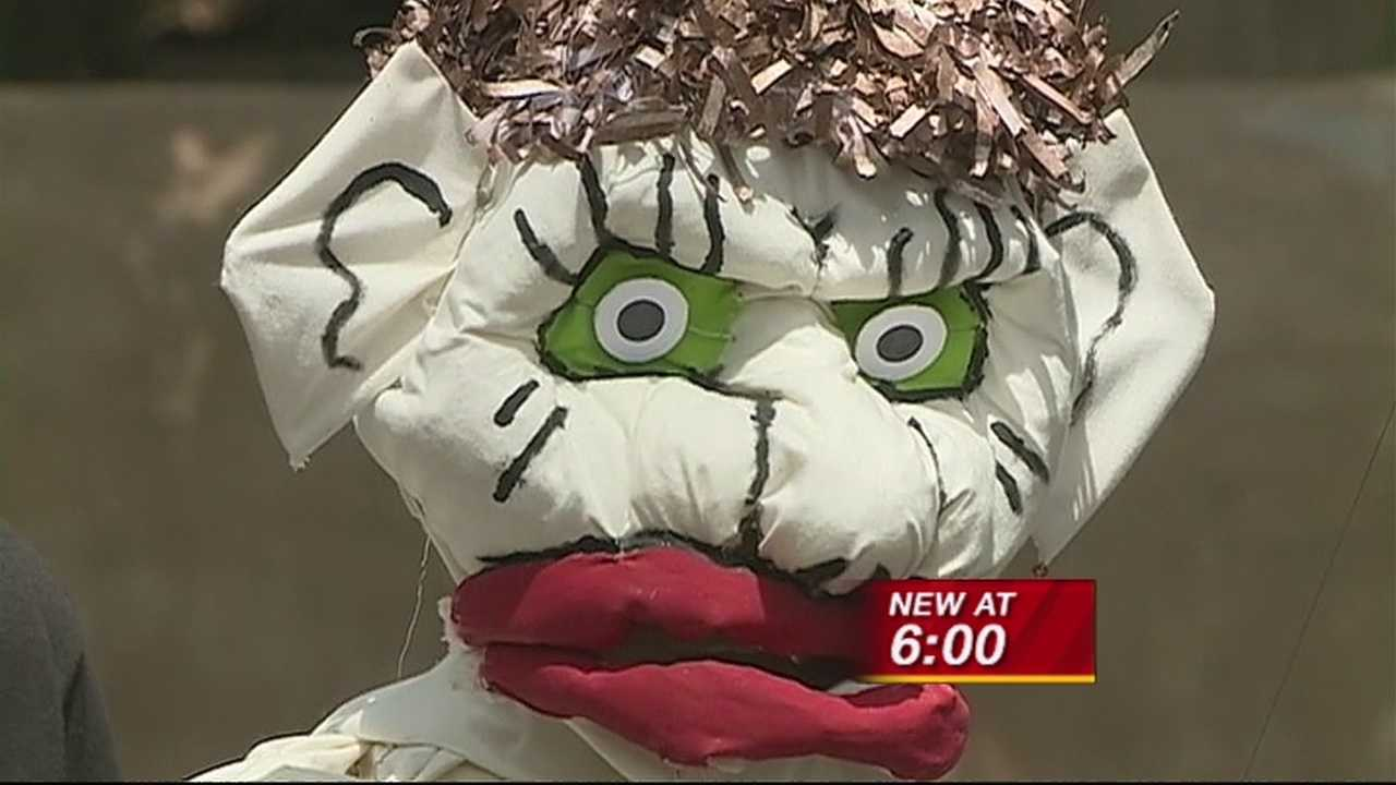Up close and personal with Zozobra