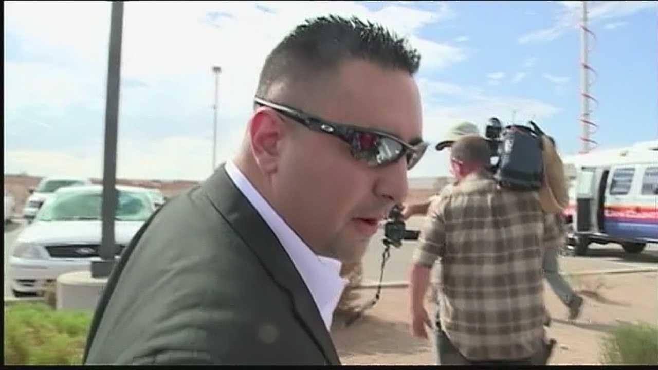 Levi Chavez after acquittal
