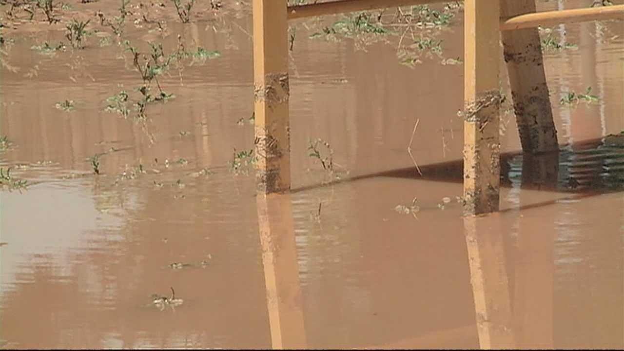 Heavy rains drench Meadow Lake