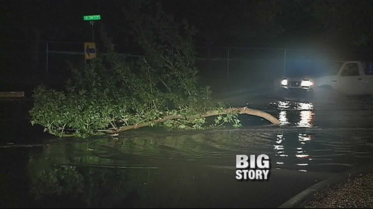 In the aftermath of a huge storm impacting the city, Action 7 News takes a look at the damage and what the city is doing to start cleaning up.