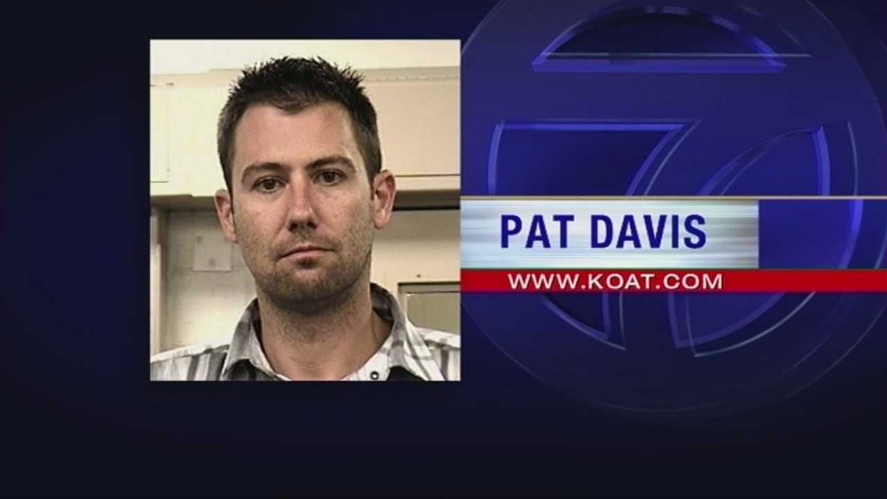 Albuquerque resident Pat Davis whose part time job was stopping crime is arrested for DUI.