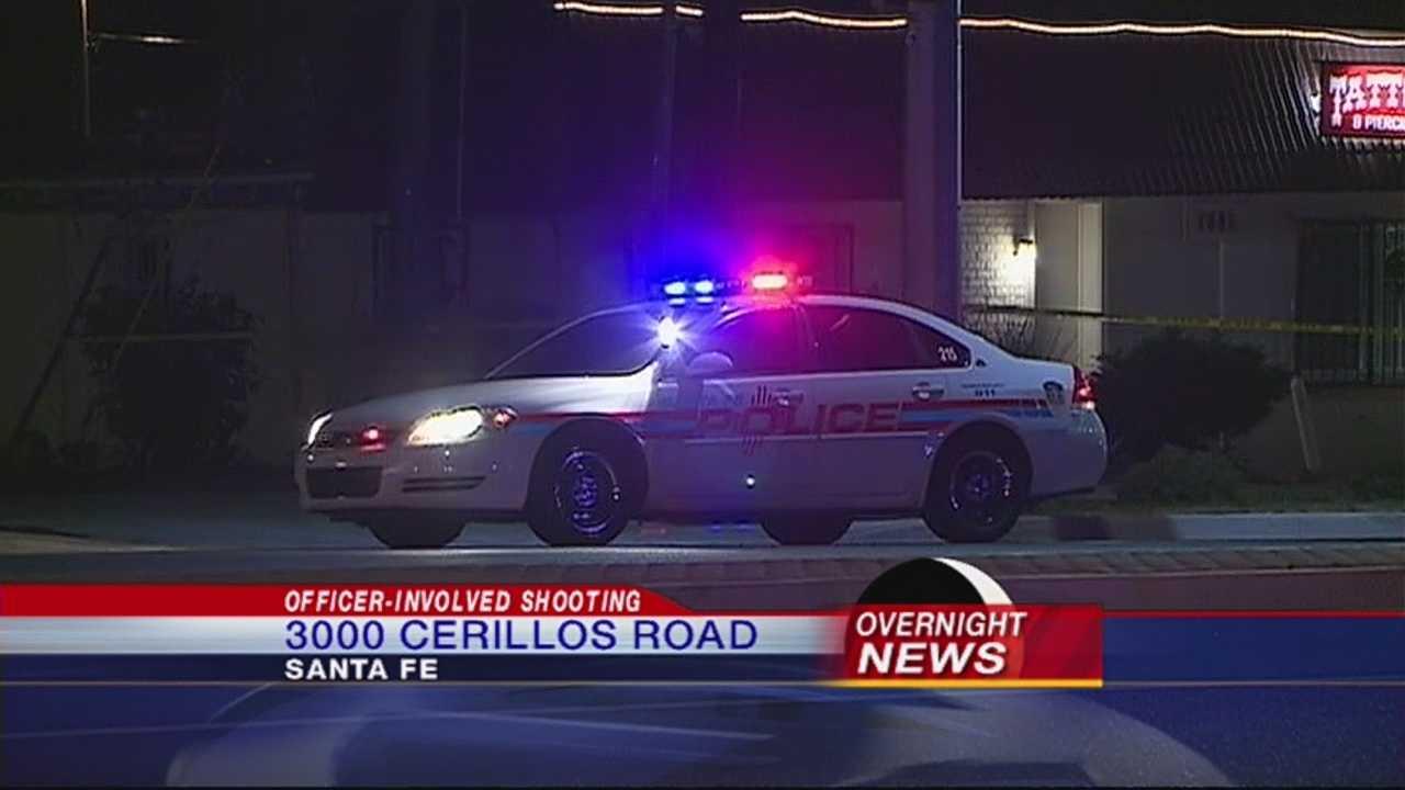 Santa Fe police shot and killed a man late Thursday night.