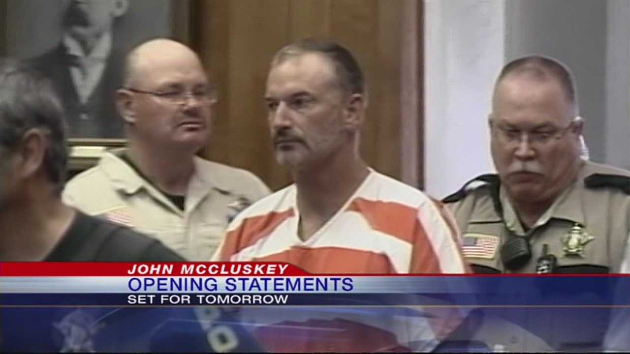 The last of three former fugitives accused of killing an Oklahoma couple will go to trial Monday.