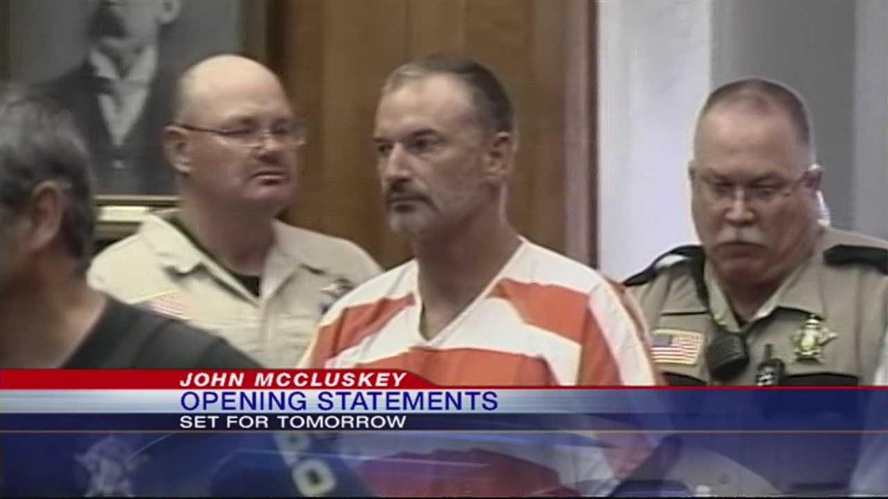 John McCluskey murder trial begins Monday