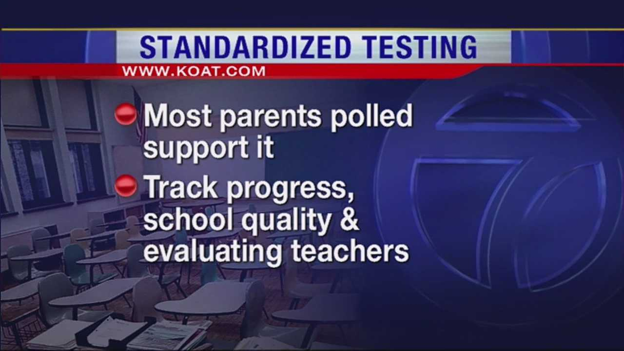 PollL Parents support standardized tests