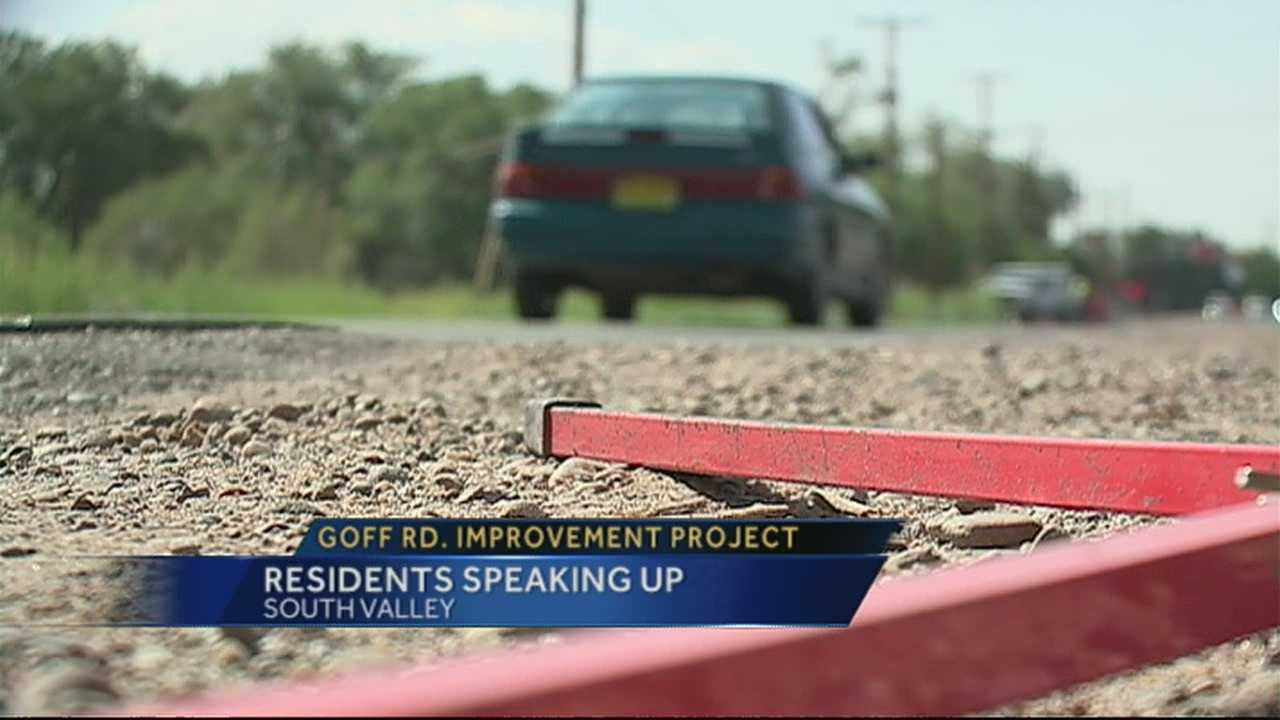 img-South Valley residents learn more about Goff Road improvements