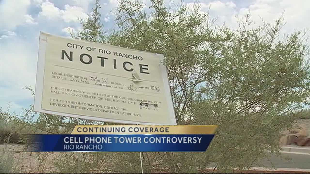 Rio Rancho Cell Phone Tower Controversy Continues