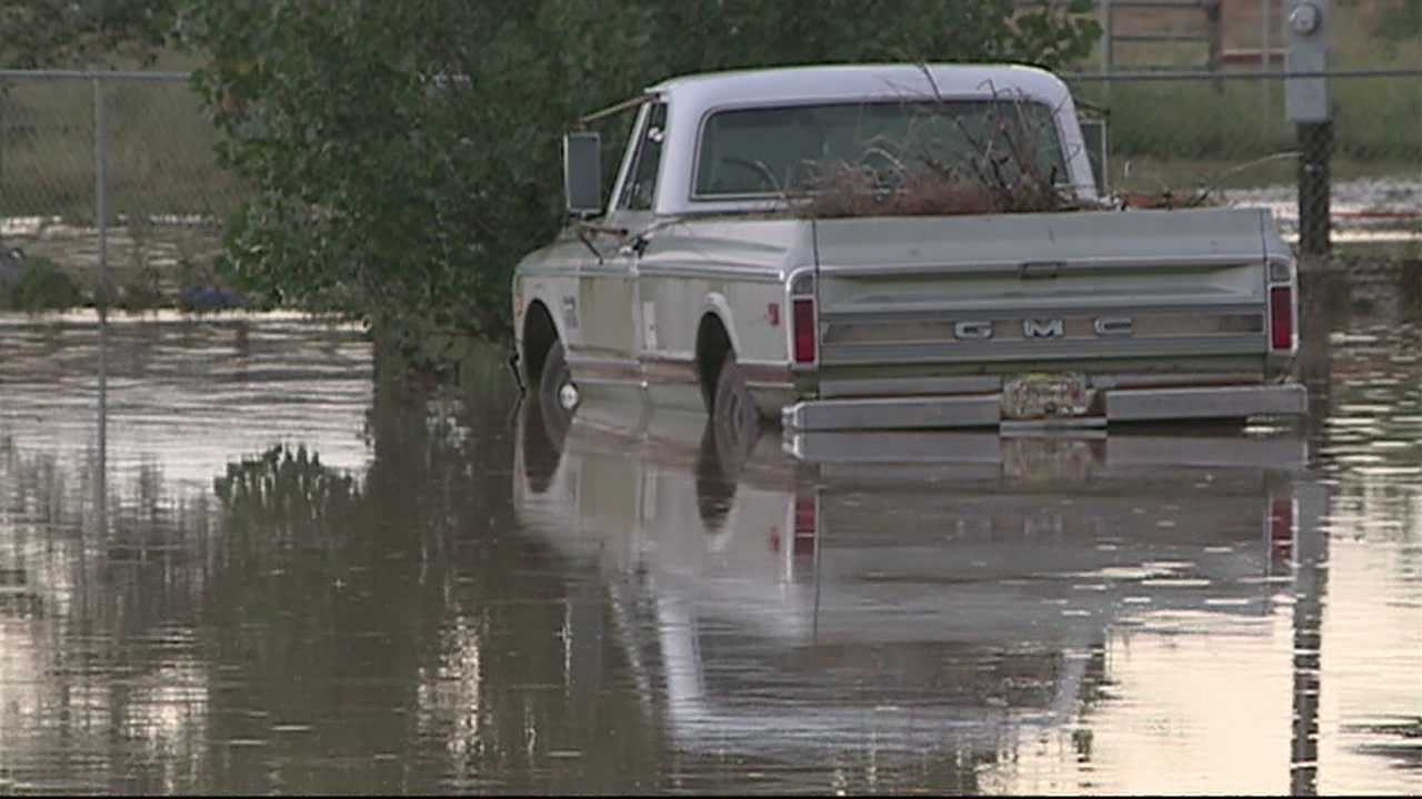 SOME EDGEWOOD HOMES ARE STILL FEET UNDER WATER, AFTER A HARD-HITTING STORM.