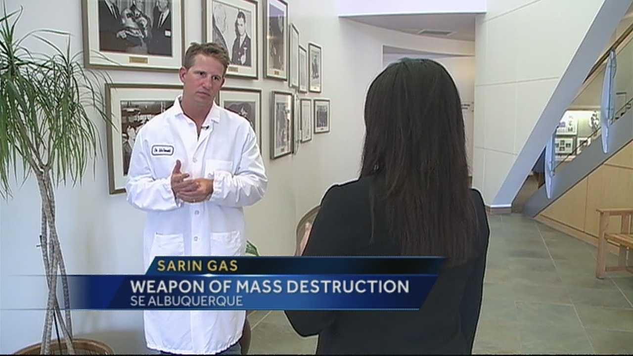 New Mexico researchers studying sarin