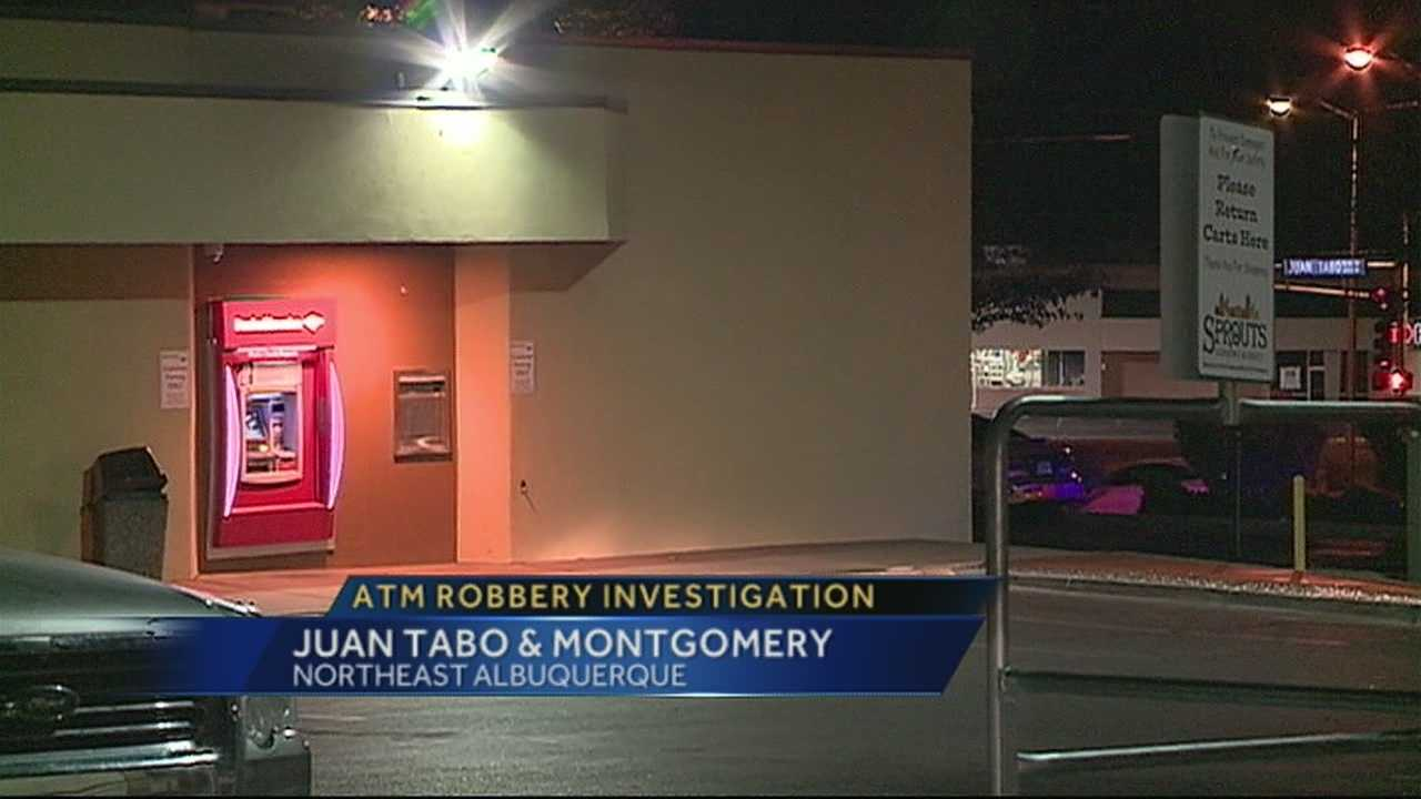 ATM Robbery Investigation