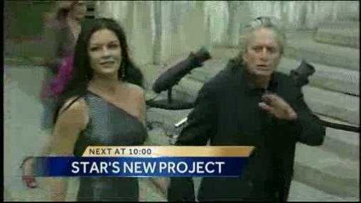 Michael Douglas coming to NM
