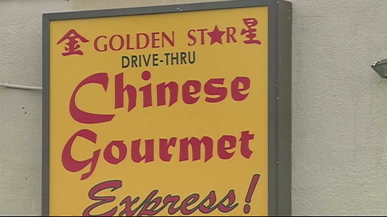A popular Chinese restaurant was hit with a red sticker this week.