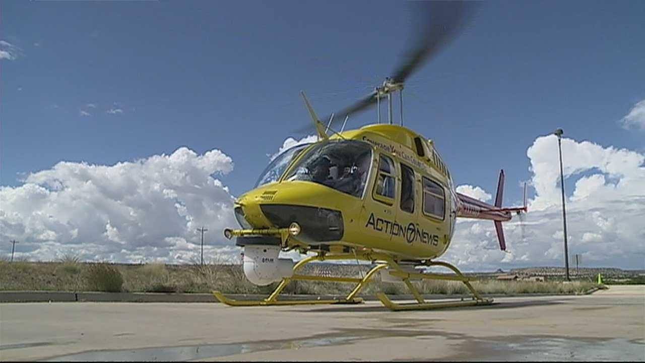 img-Sky 7 helps locate people missing since floodwaters washed out roads to Acoma Pueblo