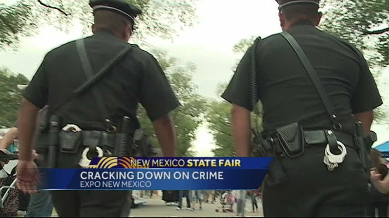 img-Increased police presence at Expo New Mexico lowers crime rate