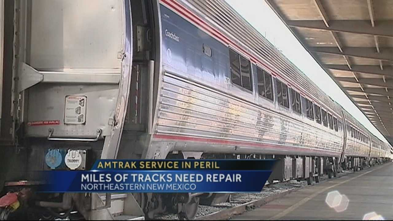 Amtrak said if hundreds of miles of railroad isn't restored soon, Albuquerque could lose Amtrak service in three years.