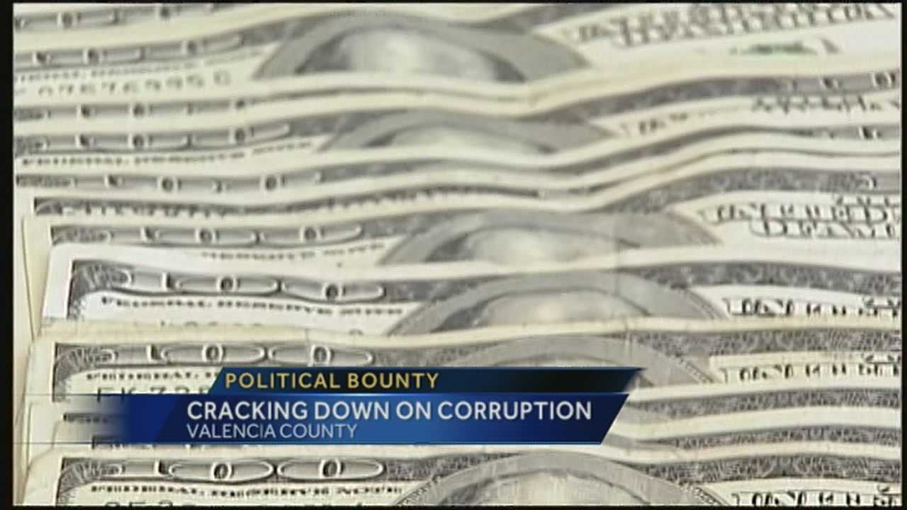 A group out of Valencia County is offering a reward for people who turn in proof of government corruption.