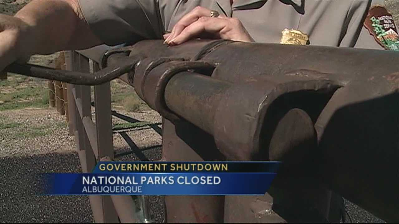 Government shutdown closes National Parks, impacts NM coffers