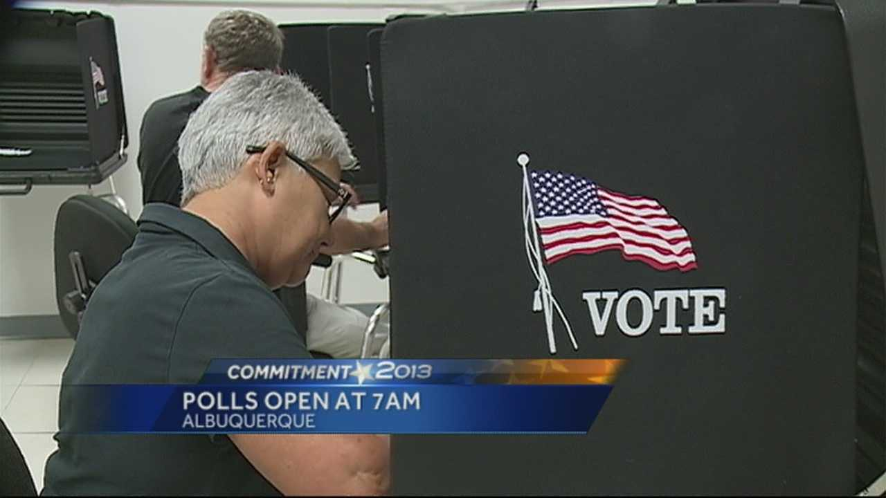 Polls will be open from 7am to 7pm, voters need to have a photo ID and be ready for the possibility of long lines.