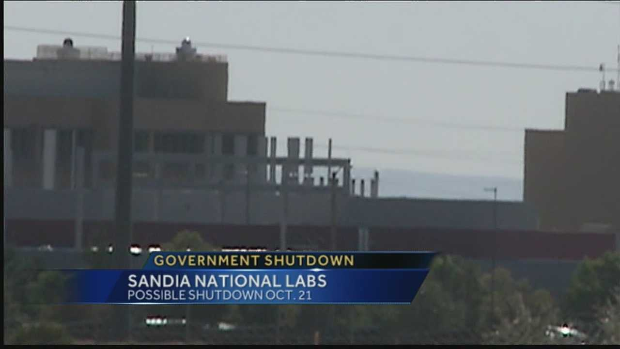 Sandia Lab will close in two weeks