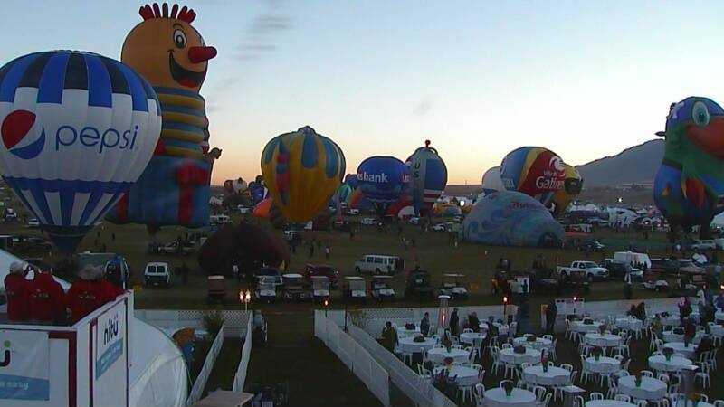 Balloon Fiesta HD Cam