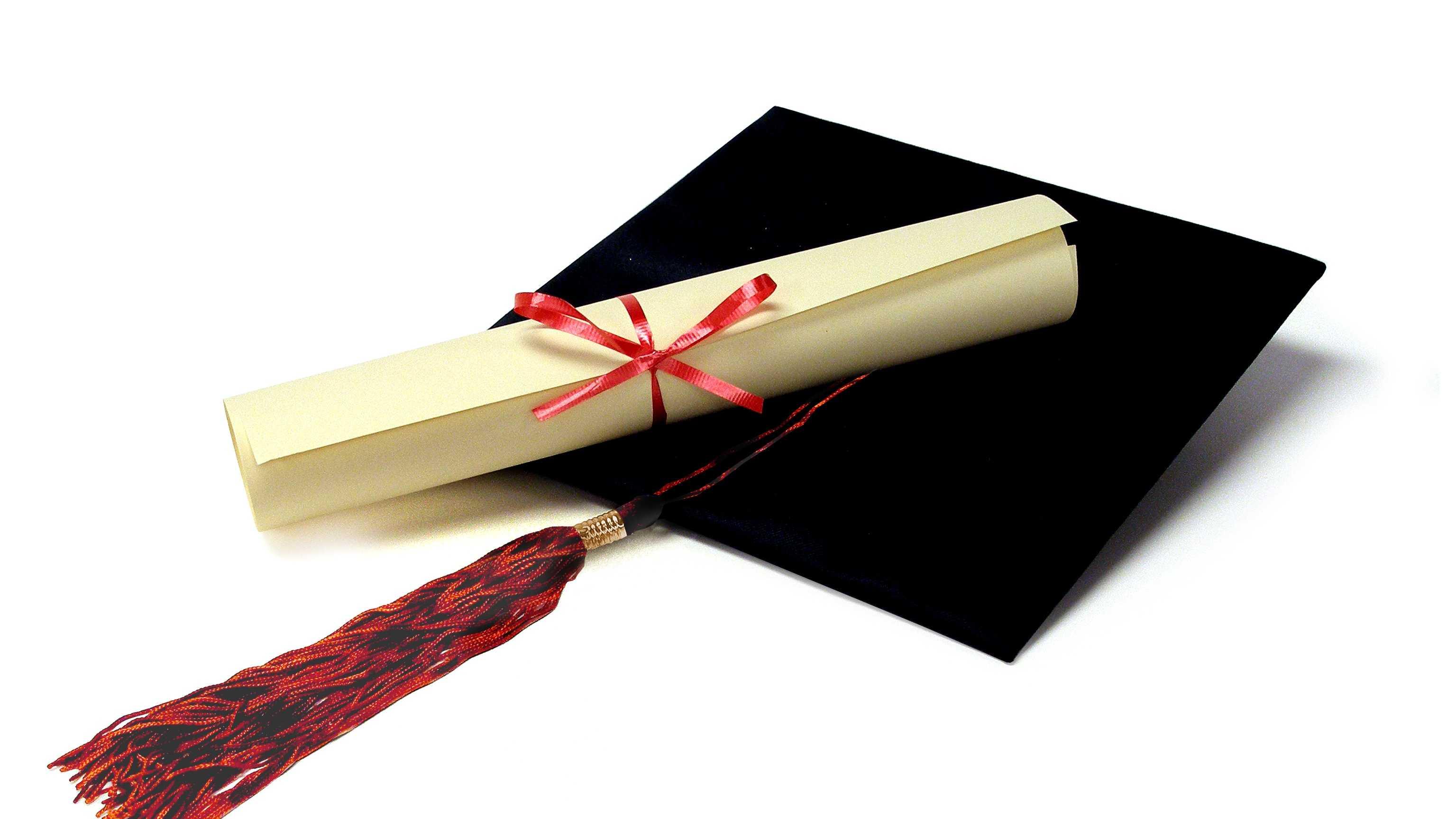 graduation cap diploma generic