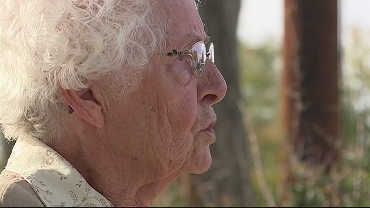 img-Grandmother tired of waiting for county s flood project digs own ditch