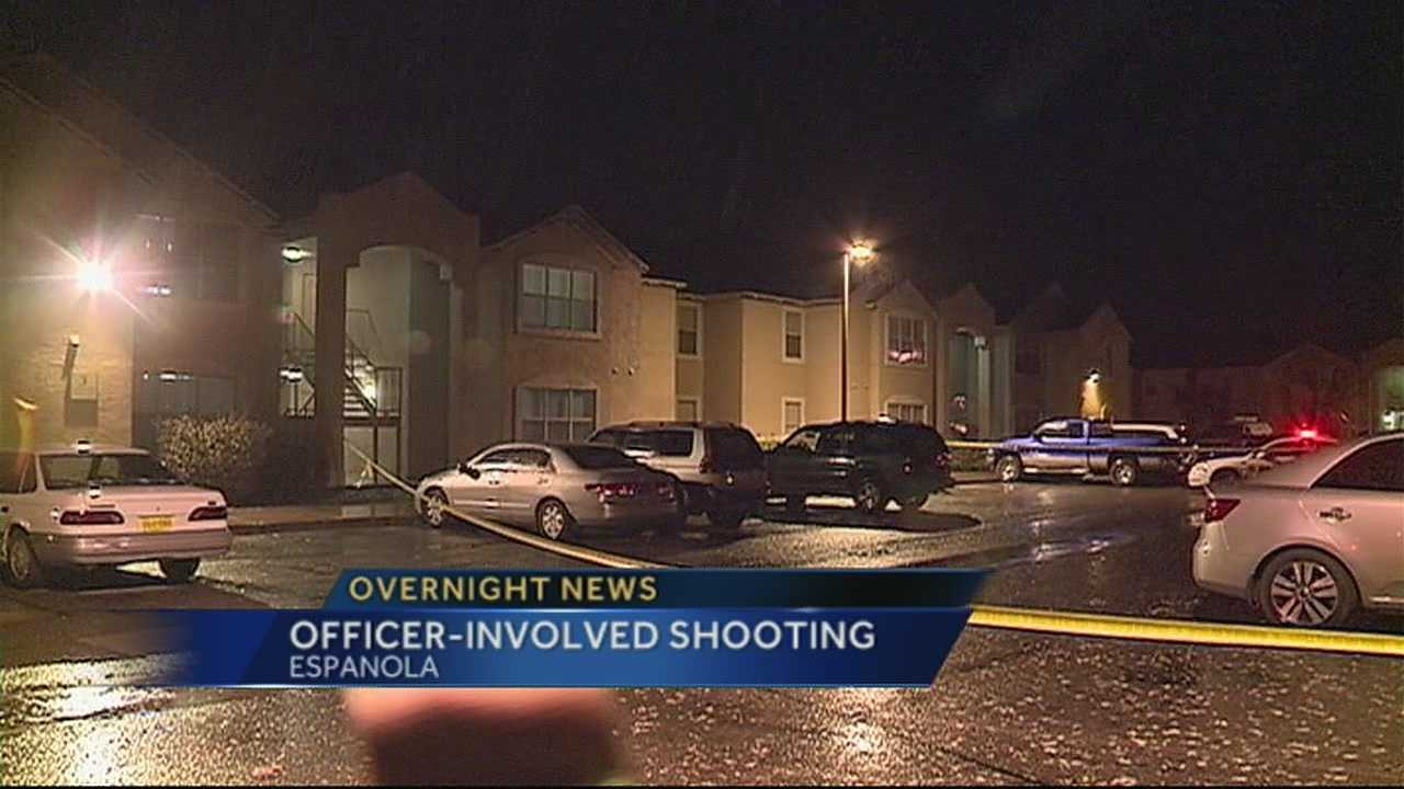 Officer Involved Shooting in Espanola