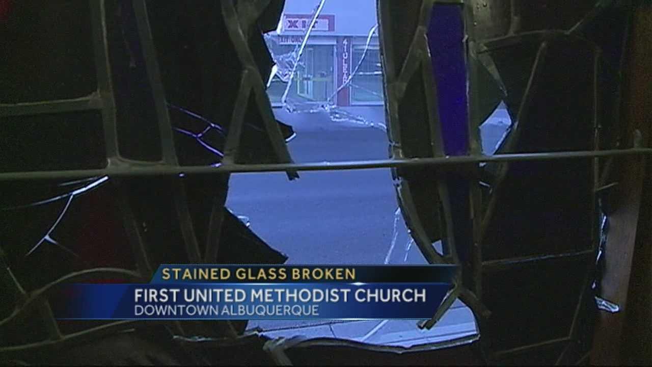Vandals target ABQ church