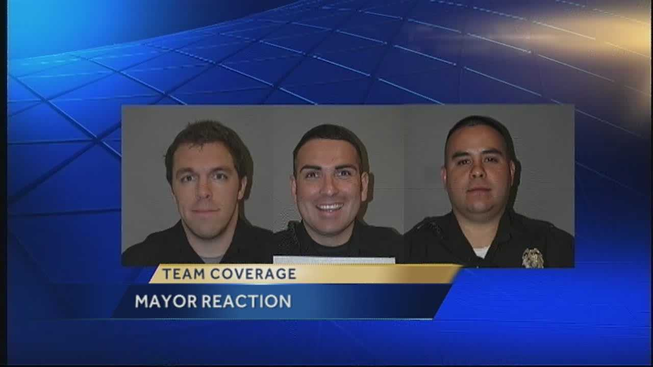 Wounded APD officers eager to return to work, mayor says