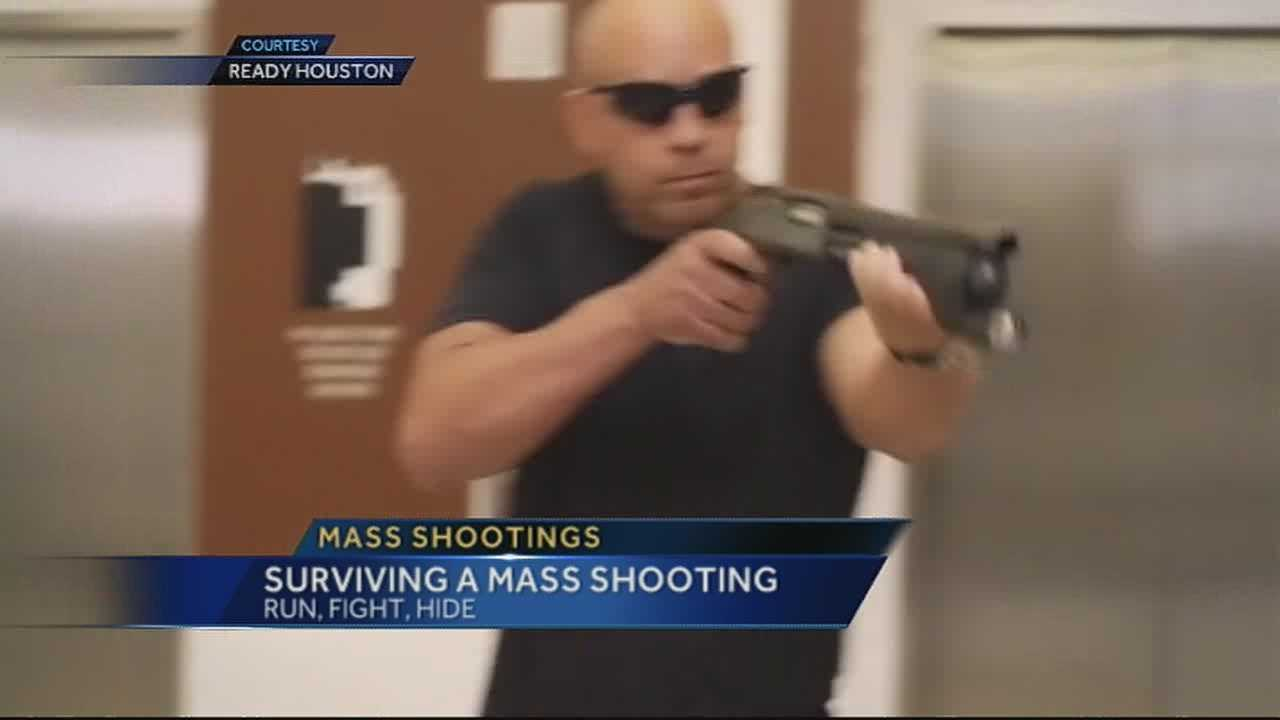 Officials: 'Run, hide, fight' in active shooter situations