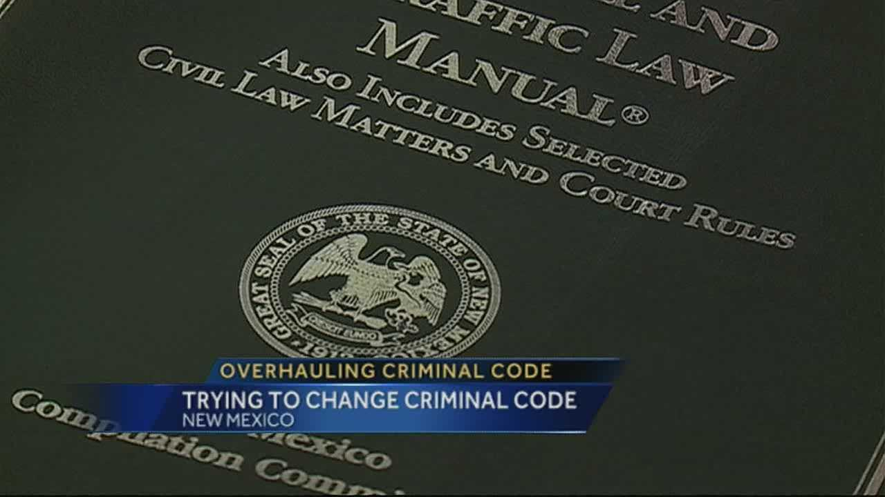 Subcommittee aims to rewrite NM criminal code
