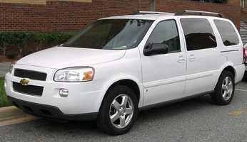 8. Chevrolet Uplander