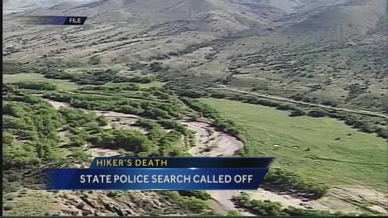 State police had called off search