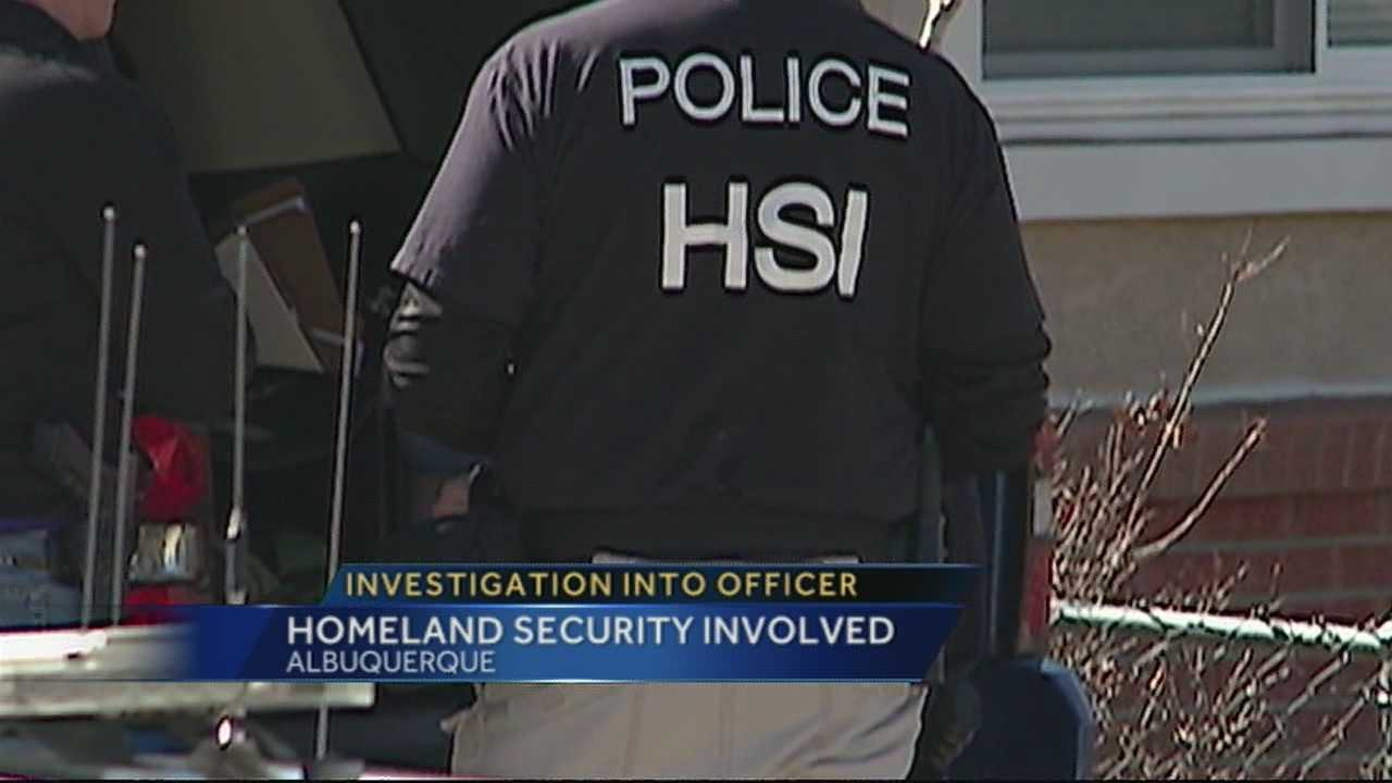HSI searches APD officer's home