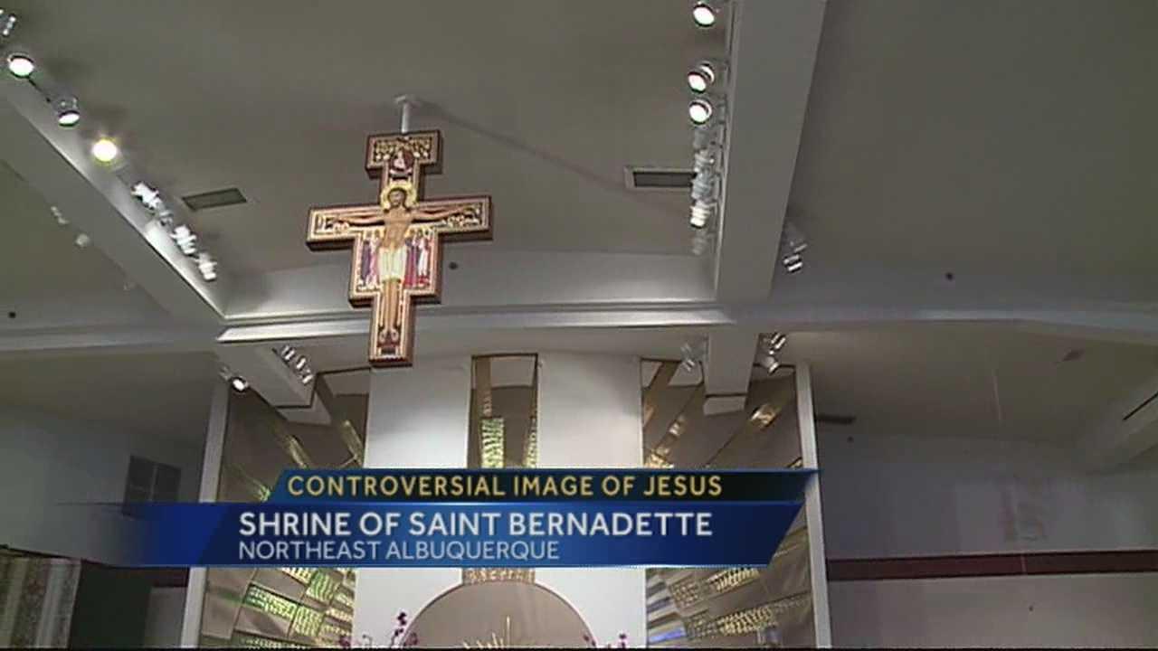 Saint Bernadette Cross