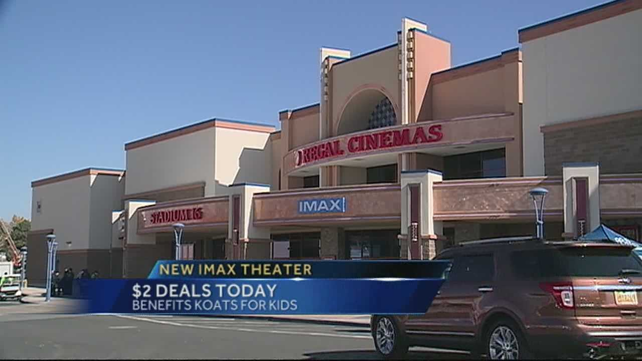 $2 Deal Day at New IMax Theatre