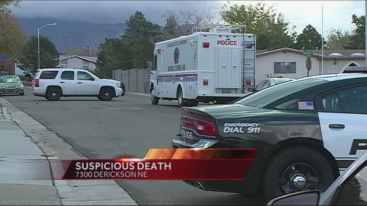 Suspicious  death 73-hundred block of Derickson Northeast
