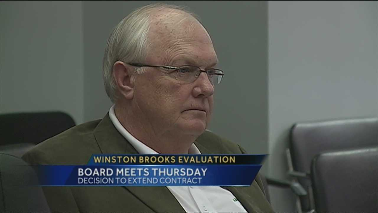 This week Albuquerque public schools will decide whether to extend the contract of superintendent Winston Brooks.