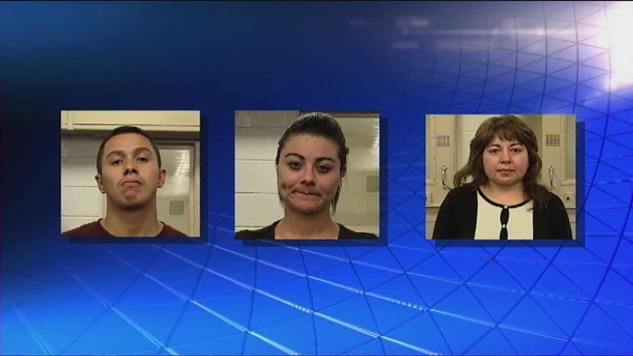All 3 arrests occurred in 1 night