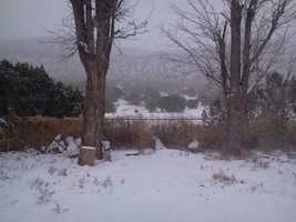 Los Montoyas snow