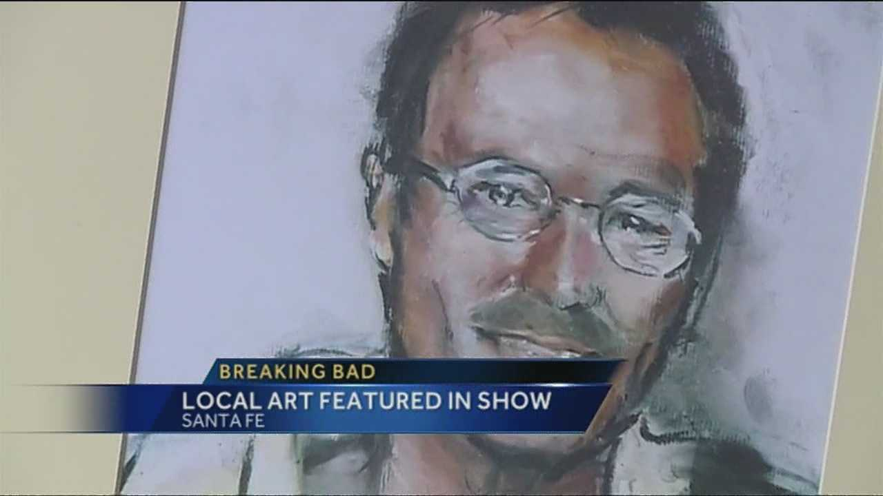 Area artist's work featured in 'Breaking Bad'