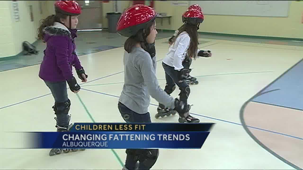 Study: Children less fit than parents were