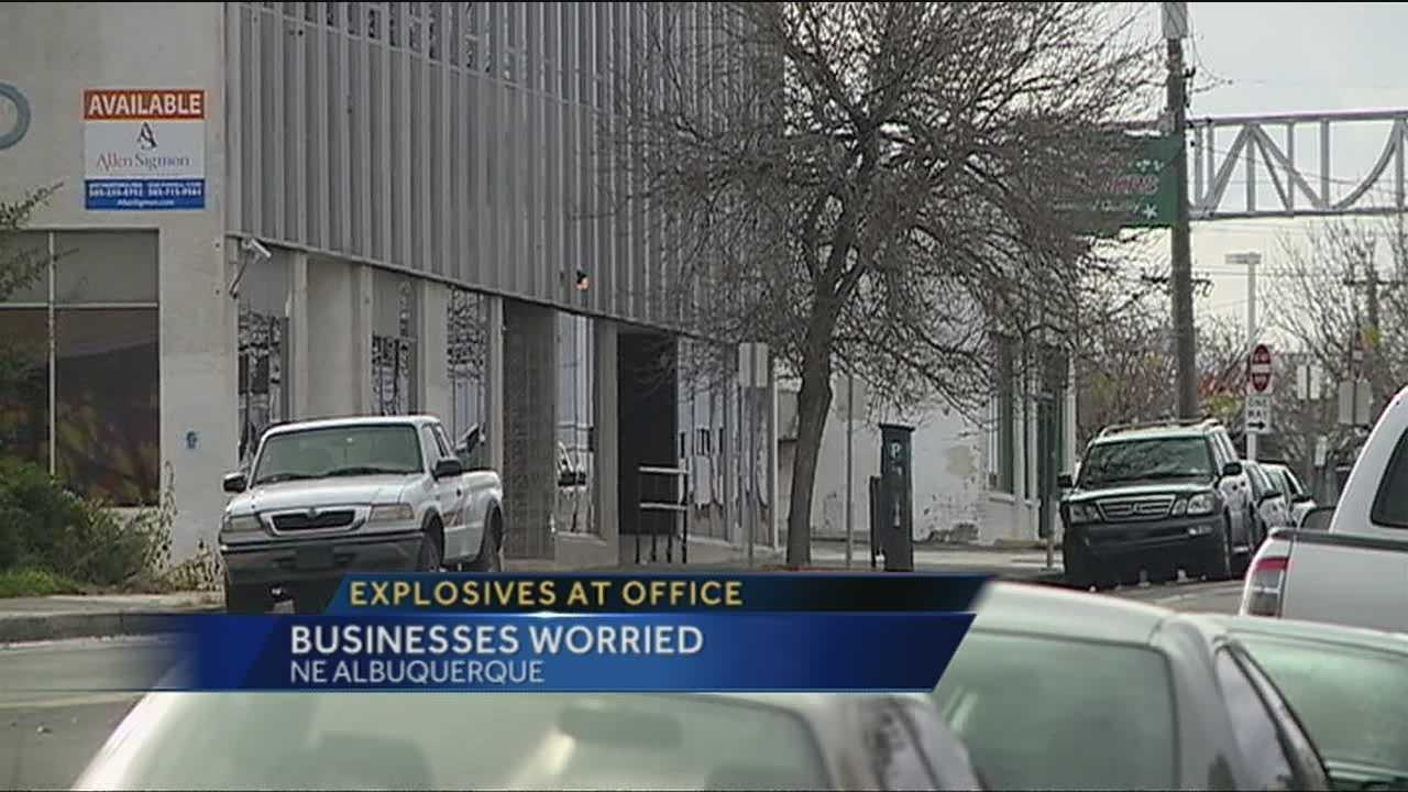 Businesses near the probation and parole offices say, bomb scares have cost them time and money.