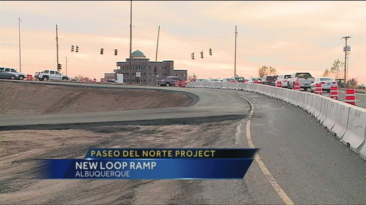 More changes come to Paseo Del Norte Interchange