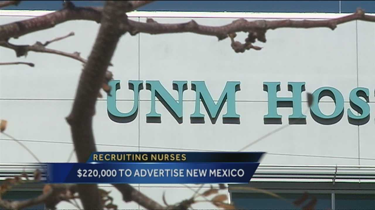 New Mexico is now looking to other states to recruit nurses.