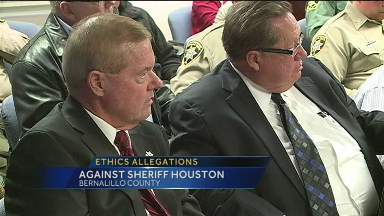 An ethics complaint brought against sheriff Dan Houston is moving forward.