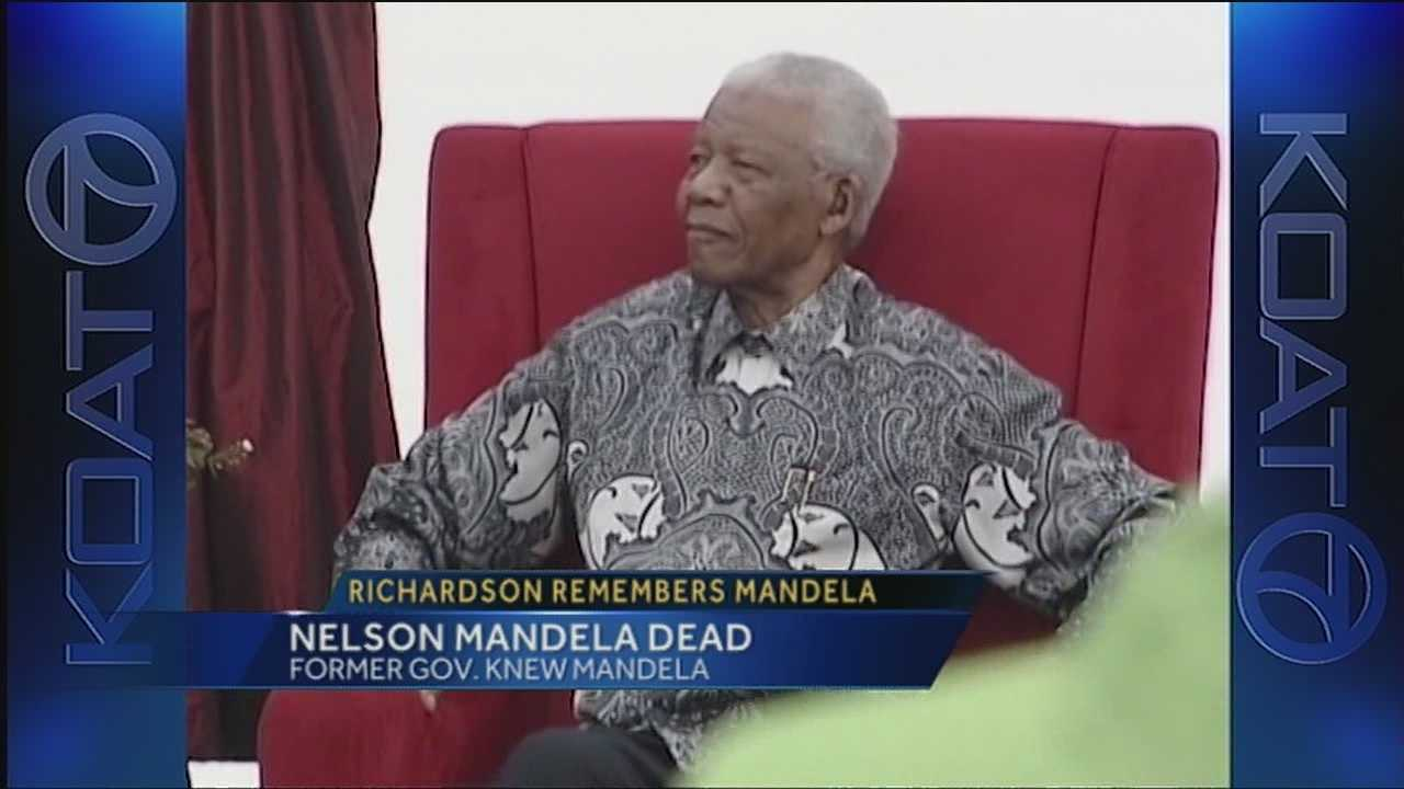Bill Richardson remembers Nelson Mandela