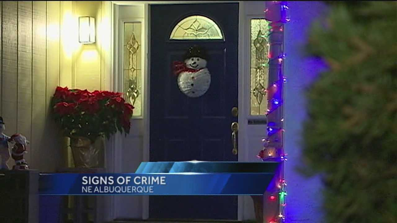 One homeowner was caught off guard when an unsettling person showed up at his door.