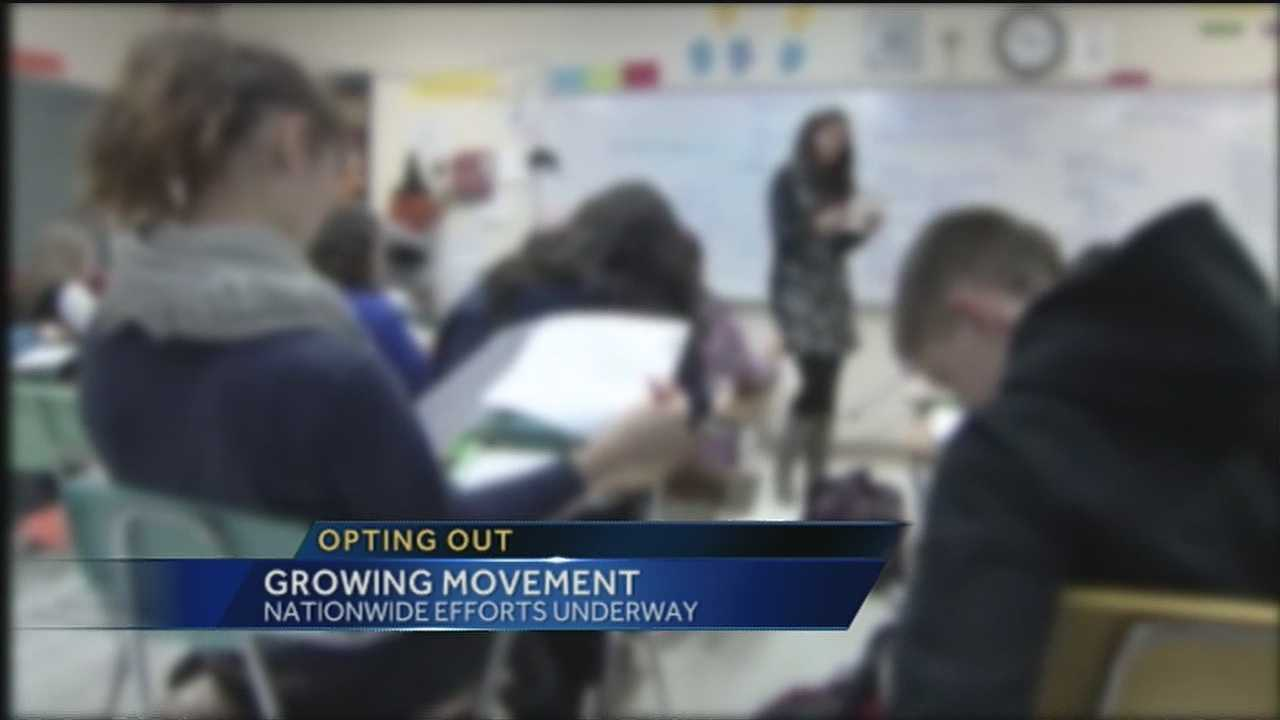 Less than 50 kids opted out of taking their end of course exams despite an APS school board member and parent asking them to do so.